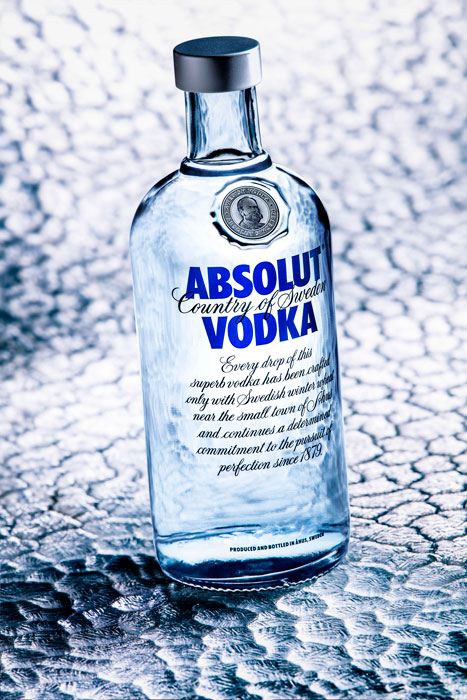 pack-shot vodka absolut antoine duchene photographe publicitaire